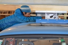 Solarpanel montieren