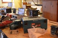 Bulli-Ausbau-Werkzeuge
