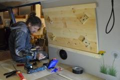 Bulli-Ausbau-Tisch-montieren