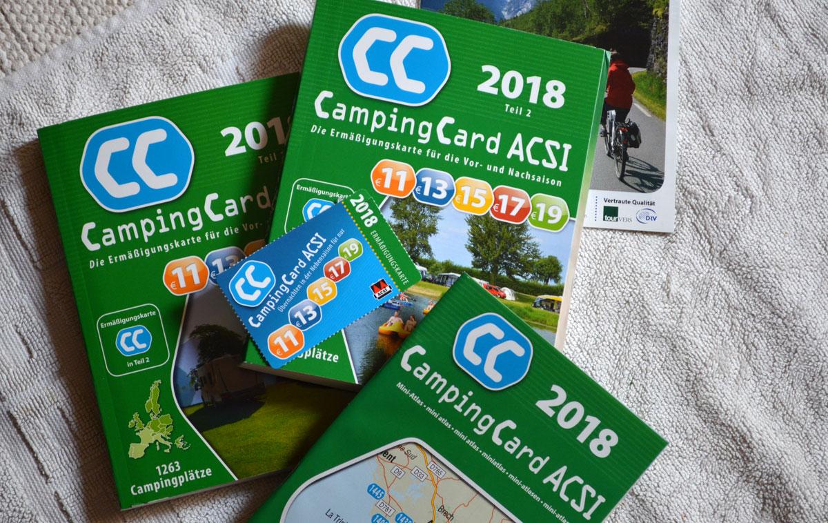 Acsi Karte.Die Acsi Camping Card Bullireisen