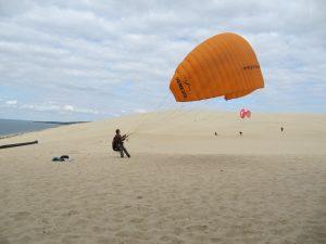 Gleitschrimfliegen Dune de Pyla