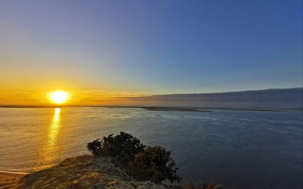 Sonnenuntergang an der Dune de Pyla