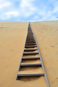 Aufstieg Dune de Pilat